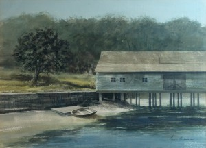 WCL - Boat House & Row Boat