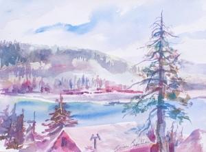 WCL - View of Big Bear Lake