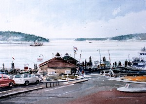WCL - Steilacoom Ferry Landing Puget Sound