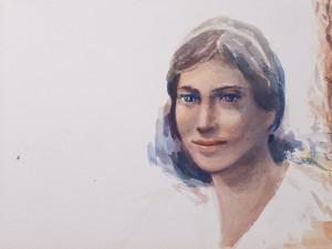 WC - Portrait Study Unkonwn 1