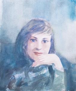 WC - Portrait Study Unkonwn 2