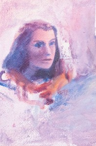 WC - Portrait Study Unkonwn 4