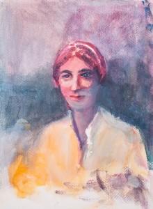 WC - Portrait Study Unkonwn 5